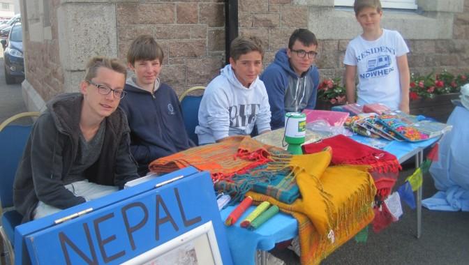 Ecole d'anglais Jersey | Soutenir Nepal