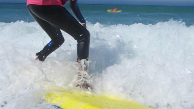 Englisch lernen und surfen in Jersey